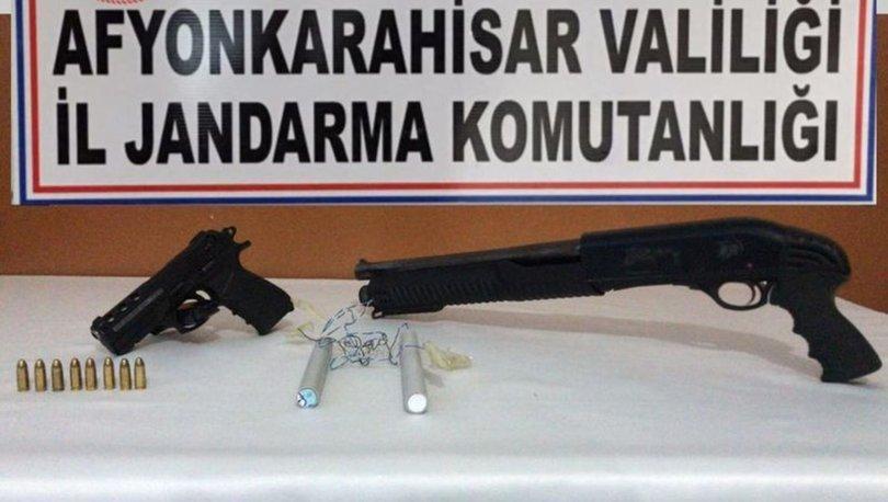 Afyonkarahisar EYP el yapımı patlayıcı