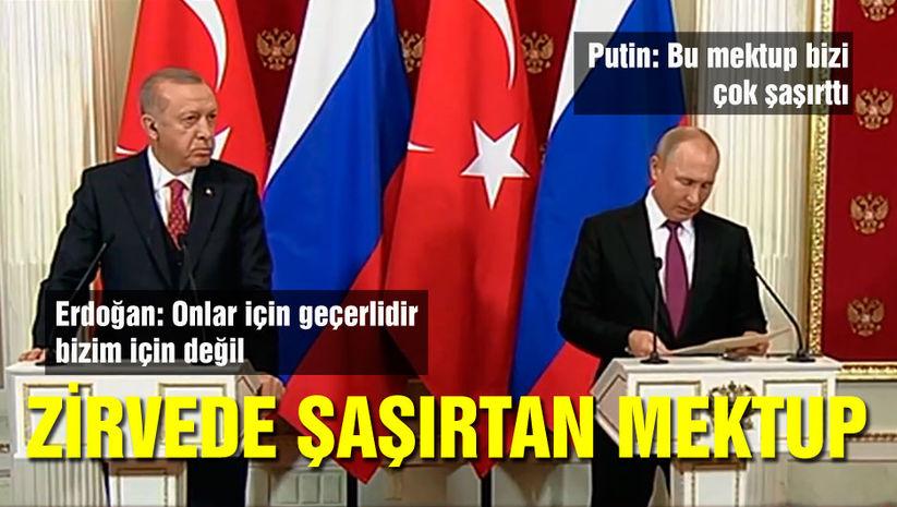 Erdoğan ve Putinden flaş açıklamalar