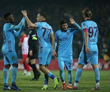 Trabzonspor kupada çeyrek finalde!