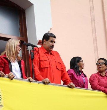 ABD ve AB'nin karşısında Maduro'ya kimler destek çıktı?