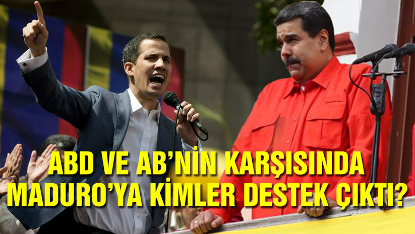 Maduro'ya kimler destek çıktı?