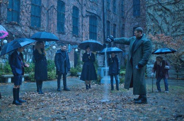 The Umbrella Academy (En Süper Aile) 1. Sezon resmi fragmanı yayınlandı!