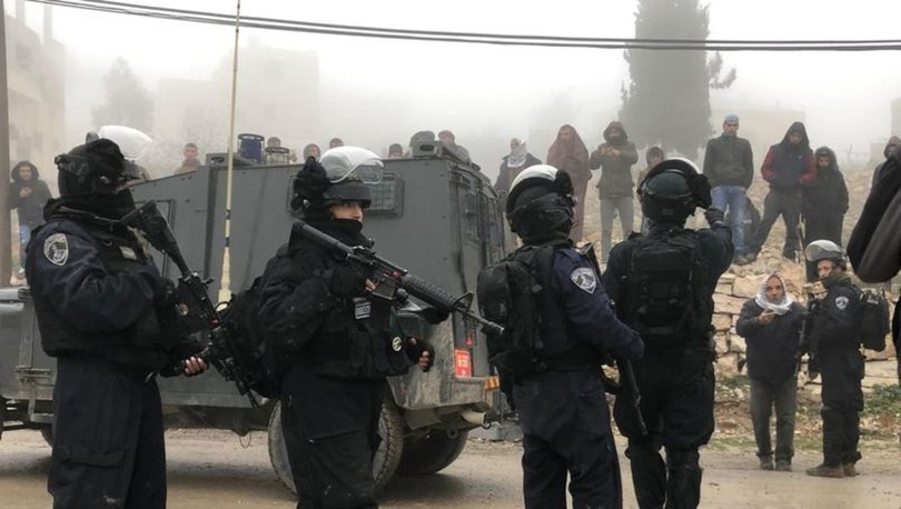 İsrail ordusu Filistinli bir çocuğu yaraladı