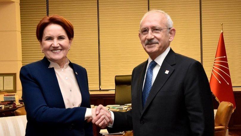 Kemal Kılıçdaroğlu Meral Akşener ortak basın açıklaması