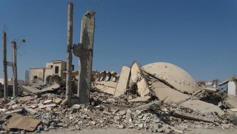 ABD öncülüğündeki koalisyon Suriye'de yine cami vurdu