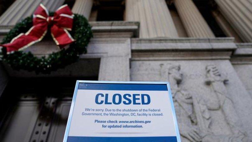 ABD'de hükümetin kapanması