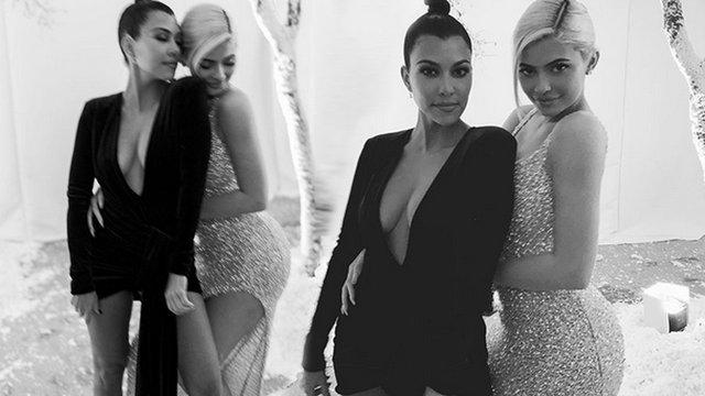 Kourtney Kardashian ve Kylie Jenner'ın barışma fotoğrafı