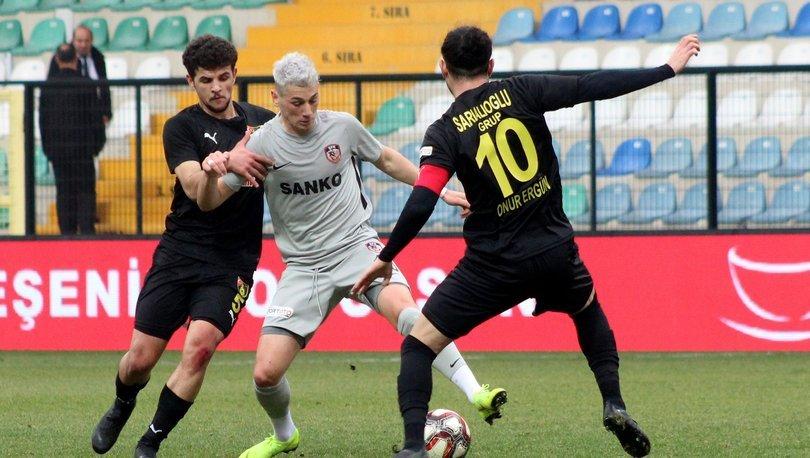 İstanbulspor: 2 - Gazişehir Gaziantep: 2 MAÇ SONUCU 52