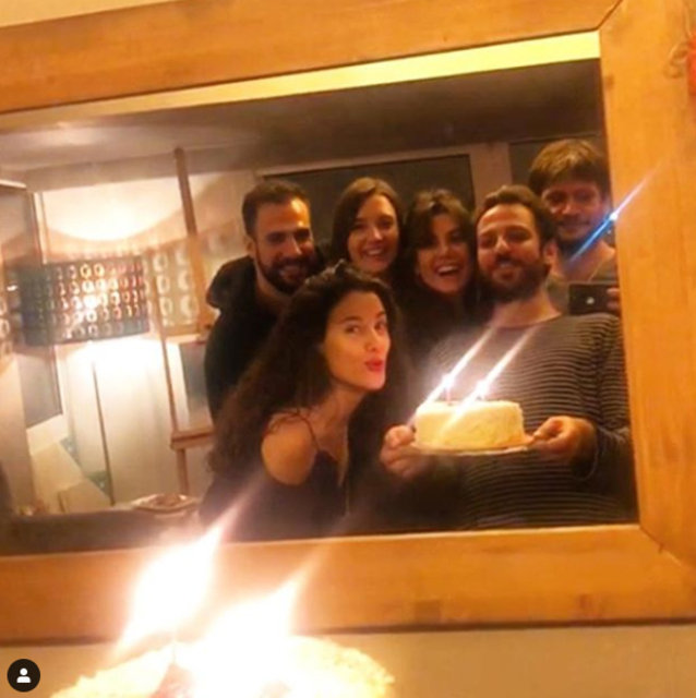Erkan Kolçak Köstendil'den eşi Cansu Tosun'a sürpriz doğum günü - Magazin haberleri