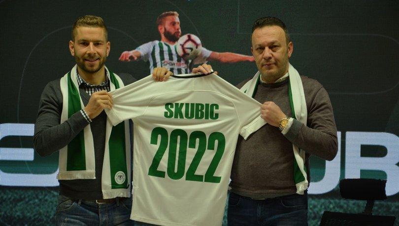 Skubic 3 yıl daha Konyaspor'da!