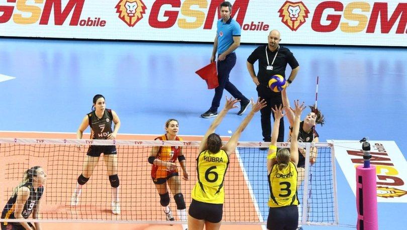 Galatasaray HDI Sigorta: 0 - VakıfBank: 3 MAÇ SONUCU