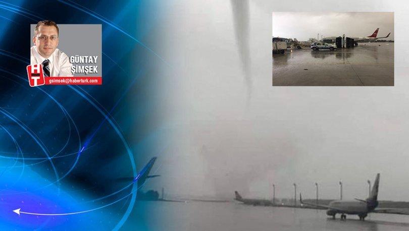 Kritik uyarı: Havalimanlarına tayfun kriteri gelmeli!