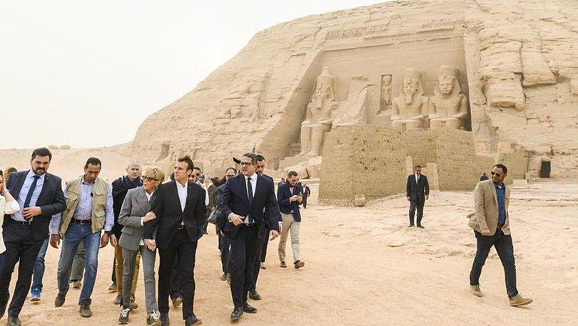 Macron Mısır'da: Sisi ile insan haklarını konuşacağım