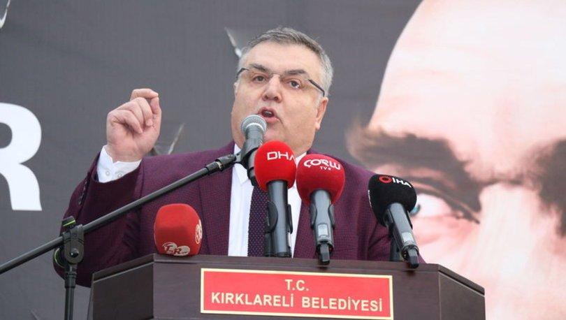 CHP Kırklareli Mehmet Siyam Kesimoğlu