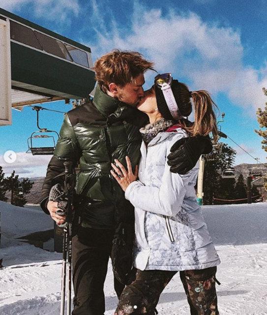Ünlü model Jessica Michel Serfaty, Türk iş adamı Kaan Günay ile aşk yaşıyor!