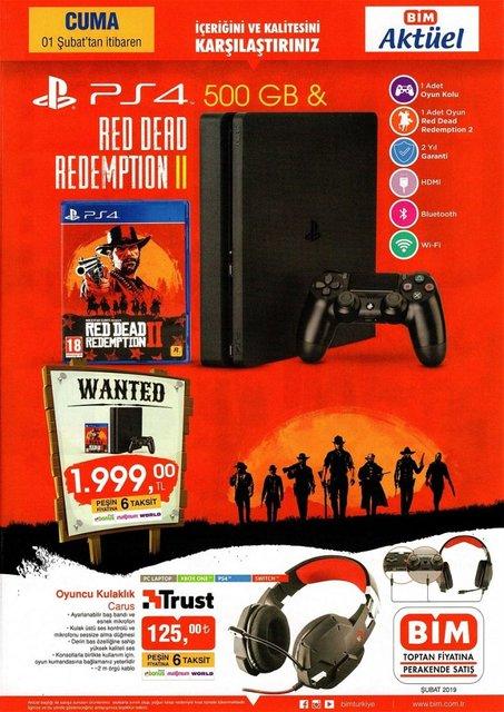 BİM'den İNDİRİMLİ Playstation 4 (PS4) sürprizi | BİM 1 Şubat aktüel ürünler kataloğu yayınlandı!