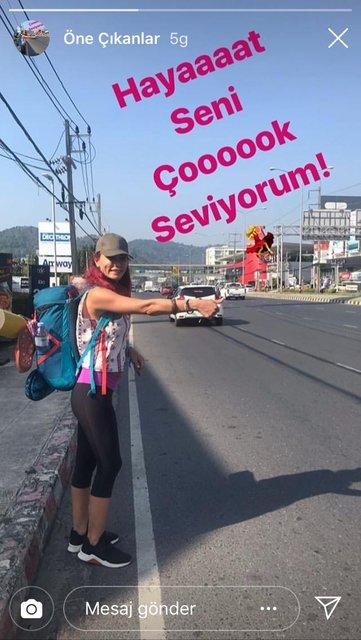 Leyla Bilginel otostop ile Uzakdoğu'yu geziyor - Magazin haberleri