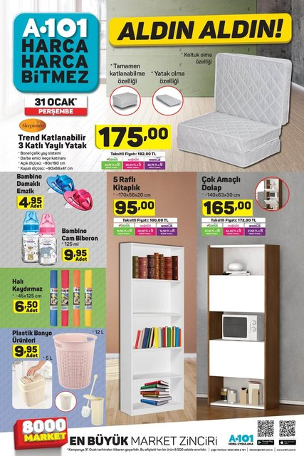 A101 Current Product Catalog January 31! What's the A101 discount this week?