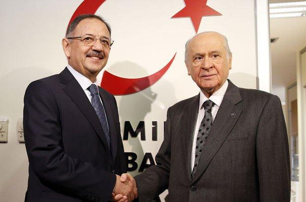 Meclis Başkanlığı için MHP'den 'koşulsuz' destek
