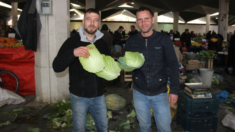 Konya pazar esnafı lahana fiyatları