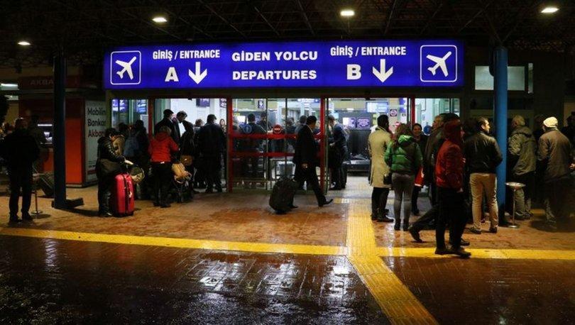 Sağanak yağış Adana uçak seferleri