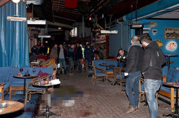 Barlar sokağında cinayet ve intihar