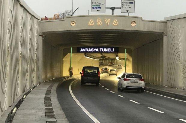 Ulaştırma Bakanlığı'ndan Avrasya Tüneli açıklaması!