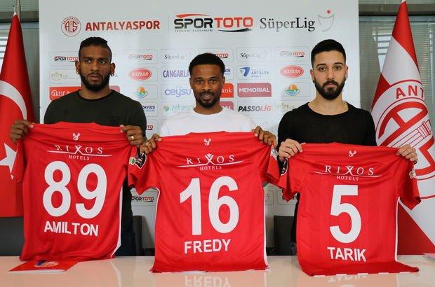 Antalyaspor'dan transfer şov