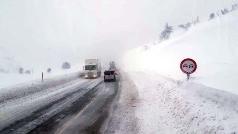 Antalya Konya kar yağışı