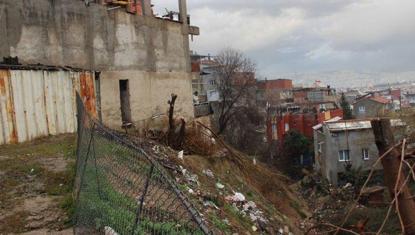 İzmir heyelan tehlikesi