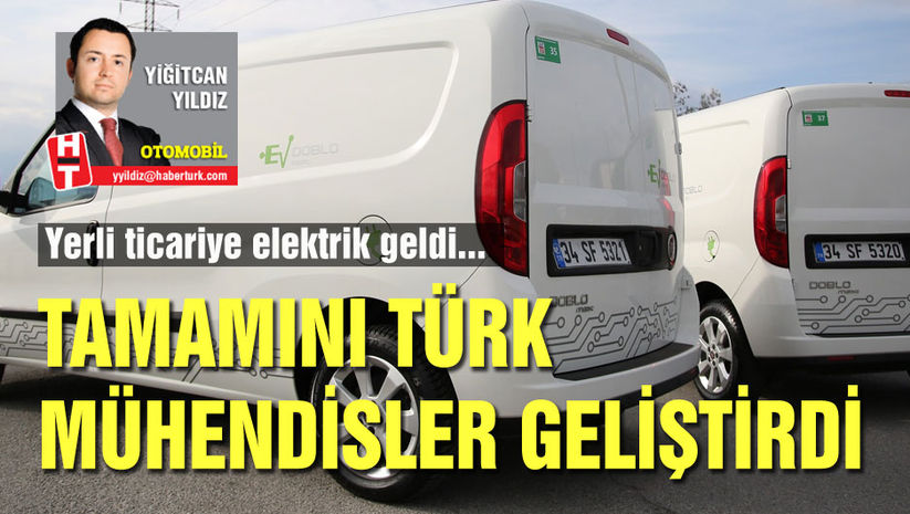 Türk mühendisler elektrikli 'ticari' geliştirdi!
