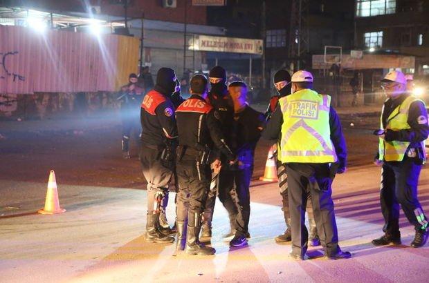 Adana asayiş uygulaması polis
