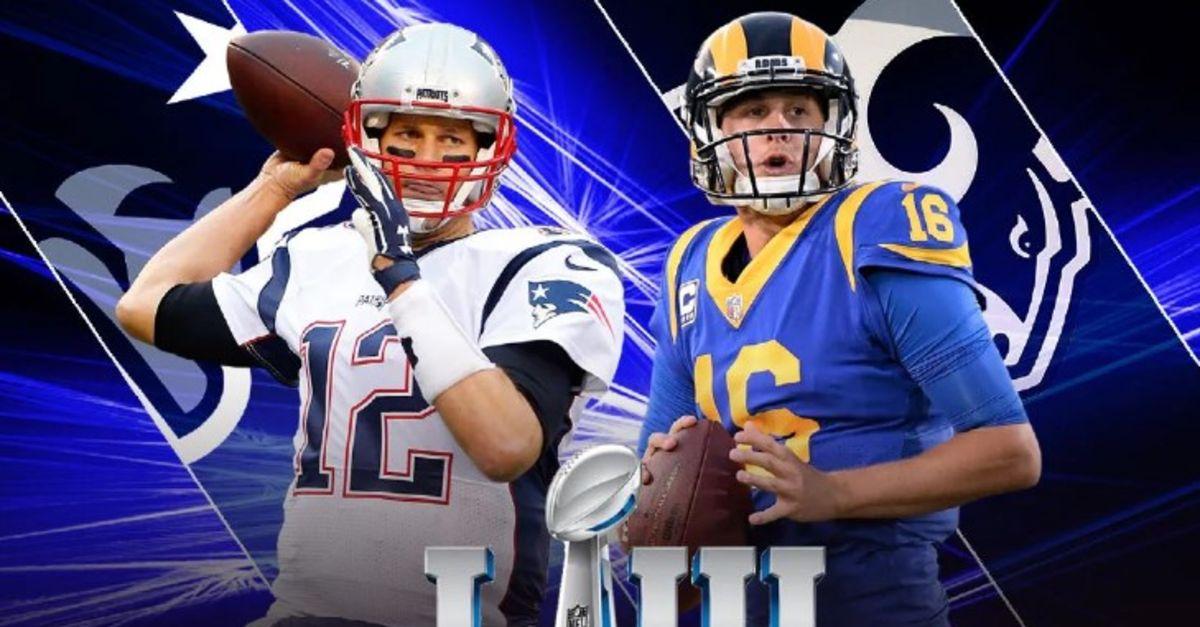 Super Bowl (NFL) maçı ne zaman, saat kaçta, hangi kanalda? Los Angeles Rams - New England ...