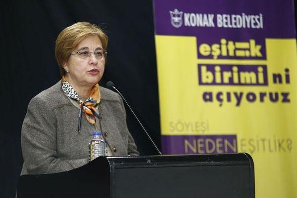 Konak Belediye Başkanı Sema Pekdaş