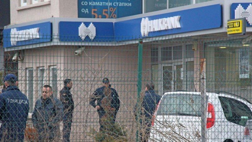 Halkbank'ın Makedonya'daki şubesinde soygun! ile ilgili görsel sonucu