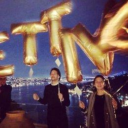 Balonlarla yeni yaşa 'merhaba'