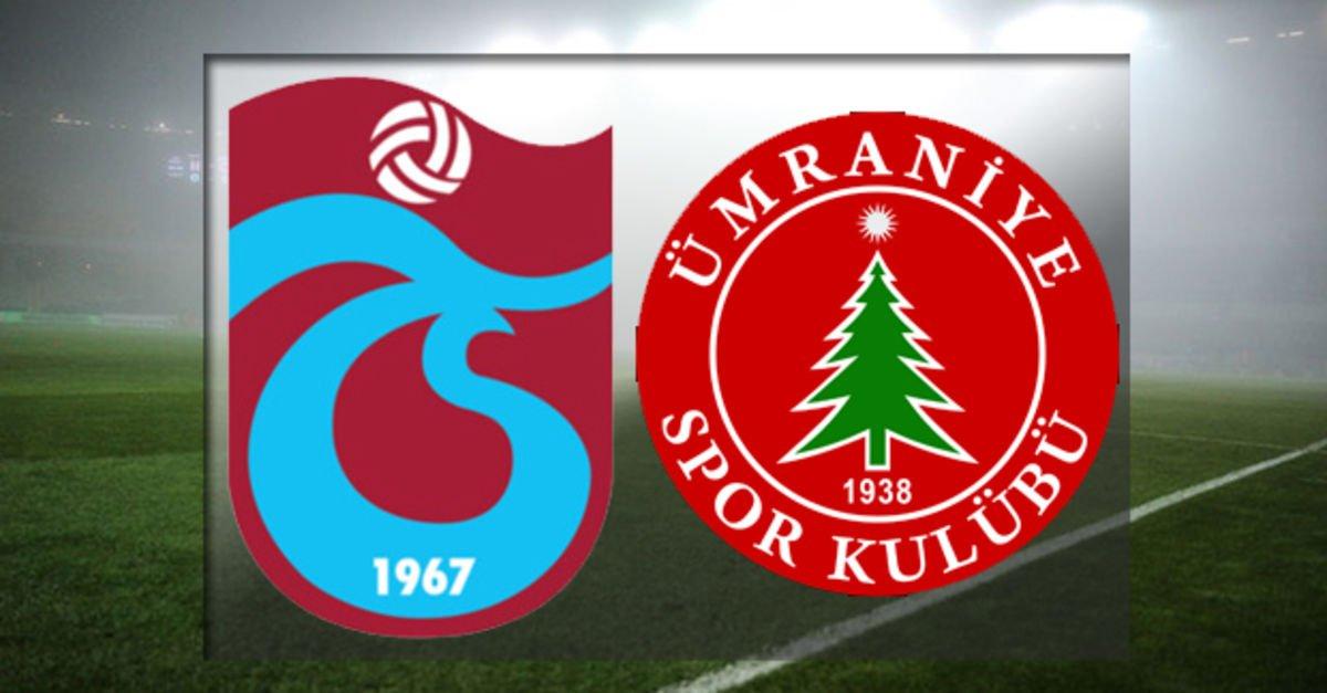 Trabzonspor Ümraniyespor maçı hangi kanalda? Trabzonspor ...