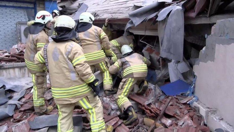 Maltepe'de 6 katlı bina çöktü