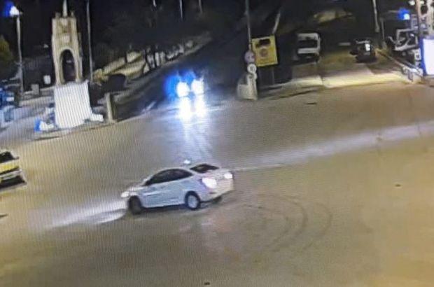 Edtirne'de drift yapan sürücüye rekor ceza