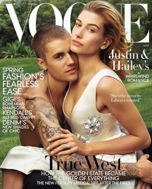 Justin Bieber ve Hailey Baldwin'den cesur pozlar
