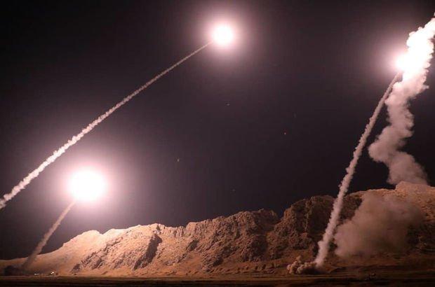 İran menzilli balistik füze