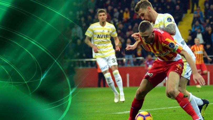 Kayserispor Fenerbahçe