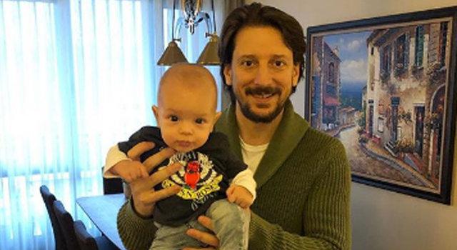 Beyza Şekerci'den baba-oğul paylaşımı - Magazin haberleri