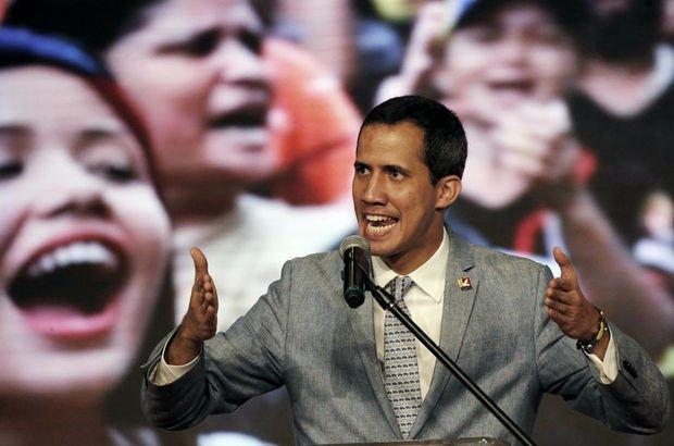 Ulusal Meclis Başkanı Juan Guaido Venezuela