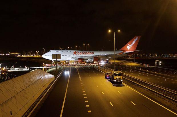 Hollanda Türk iş adamı Boeing 747 uçak