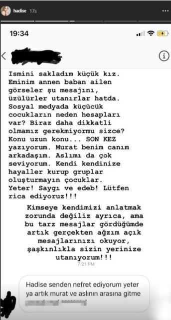 Hadise'yi çıldırtan Murat Boz ve Aslı Enver yorumu! - Magazin haberleri