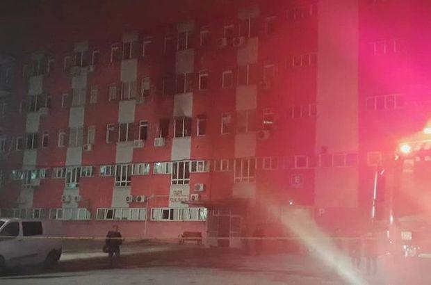hastane yangını