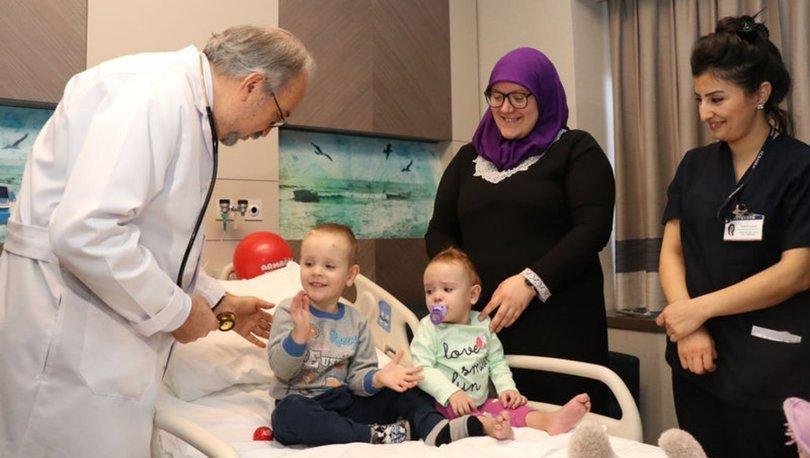 Kalp hastası Bosnalı iki bebek