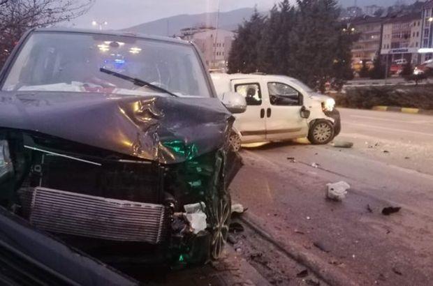 Karabük zincirleme trafik kazası