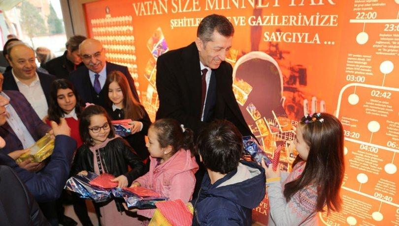 Milli Eğitim Bakanı Ziya Selçuk'tan Matematik Müzesine ziyaret